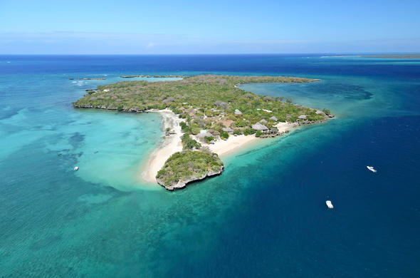 Azura Quilalea Private Island in Mozambique.