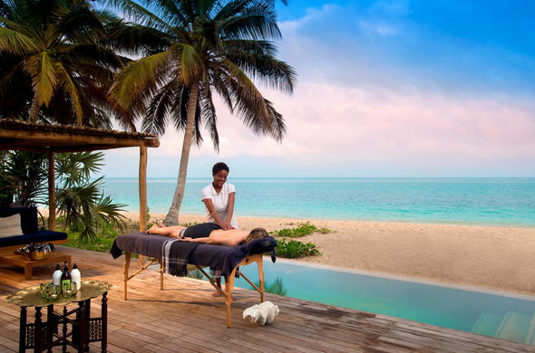 Soothing spa treatments with exquisite ocean views.