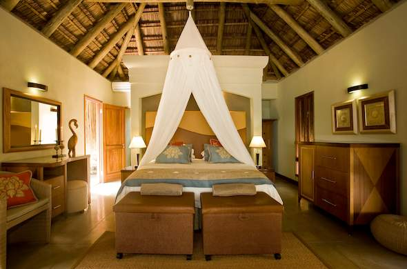 Comfortable Dugong Beach Lodge accommodation.