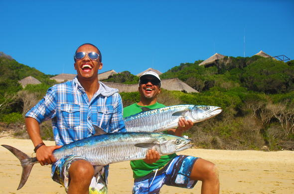 Fishing in Mozambique.