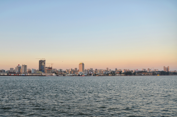 View of Maputo in Mozambique.