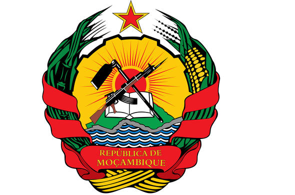 National Emblem of Mozambique.