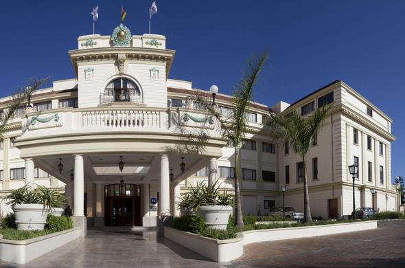 The stunning entrance to Polana Serena Hotel in Maputo, Mozambique.