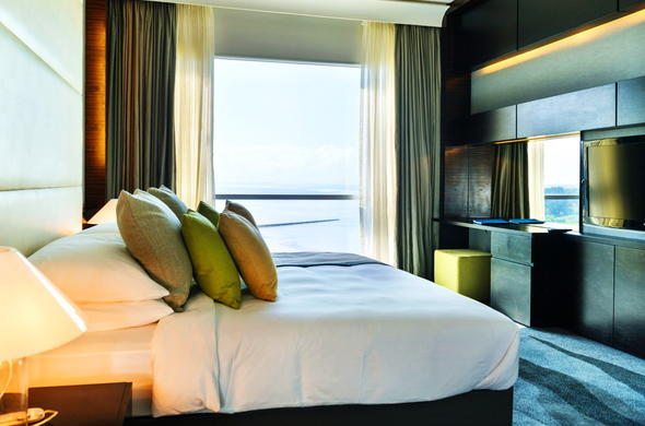 Sleep peacefully in the Executive Suite.