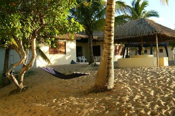 Sunset Lodge in Inhambane, Mozambique.
