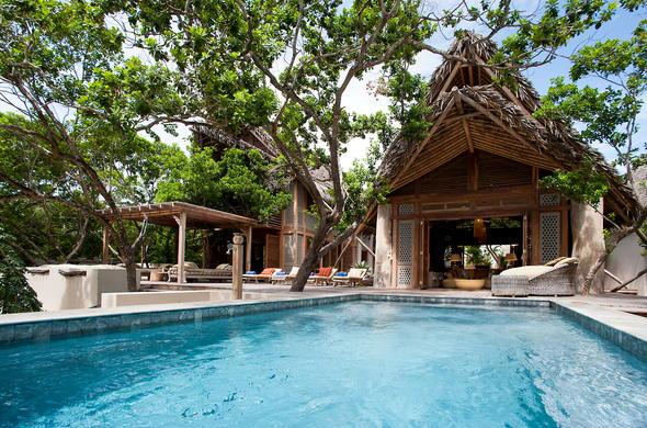 Vamizi island mozambique beach lodges overview for Private swimming pools long island