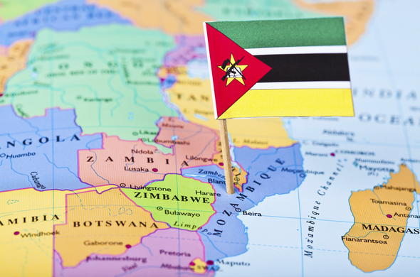 Where is Mozambique image.